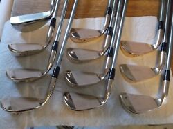Ping Eye 2 BeCu 2-SW Rare Factory Engraved Pebble Beach Iron Set wPing Zero 4