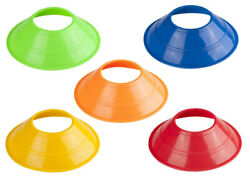 Set of 10 1 Stop Soccer Agility Disc Cones Perfect for Soccer Football Training