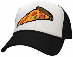 PIZZA SLICE - concession food truck - Vintage Style Trucker Hat - FREE SHIPPING!