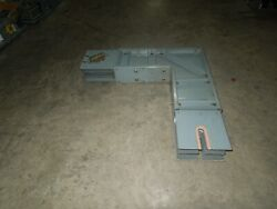 Square D I-line Af-410-lf 1000a 3ph 4w Aluminum Feeder Flatwise Elbow Used
