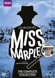 Miss Marple: The Complete Series Collection DVD 9 Disc Set Region 1 for USA $22.29