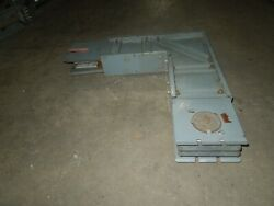 Square D I-line Af-310-lf 1000a 3ph 3w Aluminum Feeder Flatwise Elbow Used