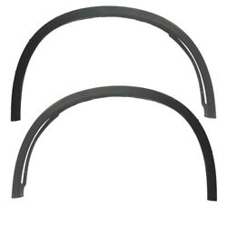 14-17 X5 Front Fender Flare 18/19 Wheel Opening Molding Left And Right Set Pair