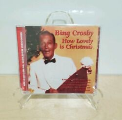 Bing Crosby How Lovely Is Christmas [cd 1998] Holiday Musical Folk Tale Sealed