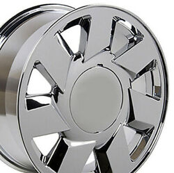 17 Chrome Wheel Set Fits Cadillac Dts Ats Sts Cts Deville 17x7.5