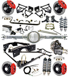 Ridetech Coiloverarm Kitcurrie Rear Endwilwood Disc Brakes13red7172 Truck