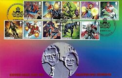Gb 2019 Marvel Super Heroes Set Peter Payne Official Fdc - Just 17 Covers