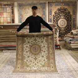 Clearance Yilong 4and039x6and039 Hand Woven Wool Rug Traditional Living Room Carpet 2070