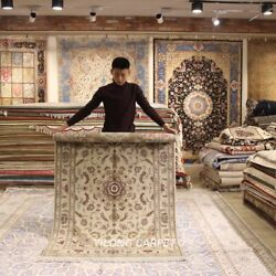 Clearance Yilong 4and039x6and039 Hand Craft Wool Rug Classic Classic Woolen Carpet 2058