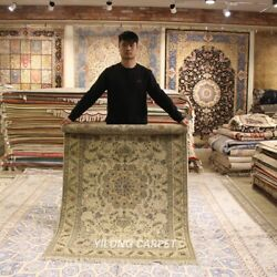 Clearance Yilong 4and039x6and039 Nice Handmade Wool Rug Blanket Woollen Carpet Strip 2086