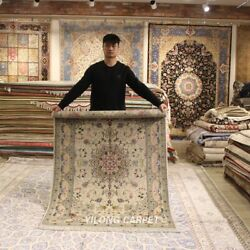 Clearance Yilong 4and039x6and039 Handmade Wool Classic Rugs Bedroom Woollen Carpets 2051