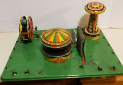 Vintage Wyandotte Tin Litho Circus Carnival For Parts Or Restoration