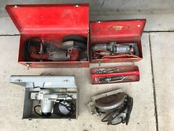 Milwaukee Heavy Duty Grinder Hammer And Electro Saw And Porter Cable Planer
