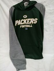 Green Bay Packers Profile Big And Tall Nfl Fleece Hoodie Nwt 2xt Free Shipping
