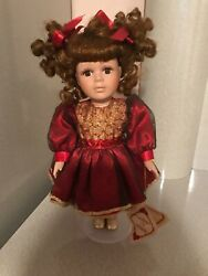 Collectors And Choice Porcelain Collectible Doll