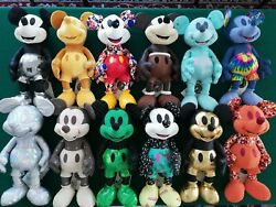 Mickey Mouse Memories Plush Complete Collection Original New