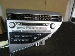 10 11 Lexus RX350 RX450H Radio 6 Disc CD Player Changer Stereo OEM 86120-0E280