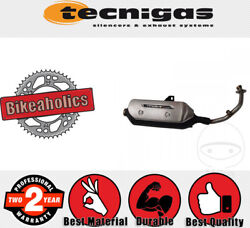 Technigas Complete Exhaust System - Maxi-4n For Suzuki Scooters