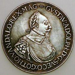 Europian Coin And Medal Gustaw Adolph Sweden King 1594-1632 Commemorative D+384
