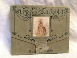 Beatrix Potter - The Story of A Fierce Bad Rabbit 1st1st 1906 Warne Panorama
