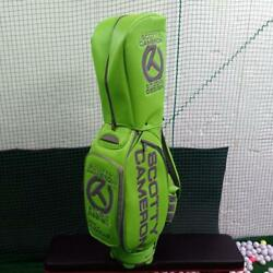 [World Limited 100] Scotty Cameron 2014 Staff Bag Circle-T LIME Used