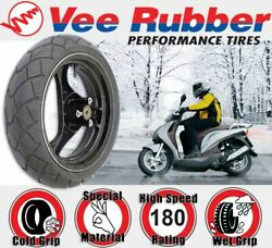 Vee Rubber All Weather Tyre- 130/70-12 For Italjet Formula