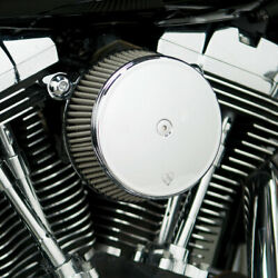 Arlen Ness 50-330 Big Sucker Stage I Air Cleaner Kit Steel Cover/jacketed Filter