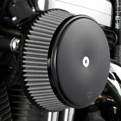 Arlen Ness 50-335 Big Sucker Stage I Air Cleaner Kit Steel Cover/jacketed Filter