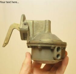 Unknown Single Action Old Fuel Pump Antique 1930's 1940's 1950's Domestic Usa