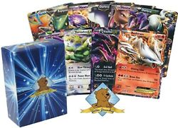 10 EX Ultra Pokemon Cards with 150 HP or Higher! No Duplication! Includes Gol...