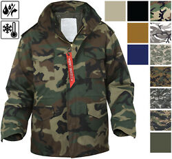 Military M-65 Field Jacket And Liner Tactical M65 Coat Uniform Army Camo