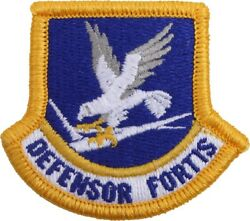 Us Air Force Inspection Ready Defensor Fortis Security Forces Beret Flash Patch