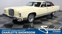 1977 Lincoln Continental Town Car classic vintage chrome cream burgundy pillow top interior bbf FoMoCo luxury