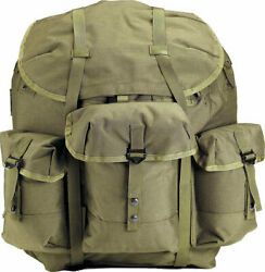 Nylon Alice Pack And Frame Tactical Large Backpack Outdoor Camping Military Travel
