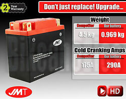Upgrade To Lightweight And High Performance Lithum Motorcycle Battery - Ytx14ah-bs