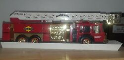 1995 Sunoco Seriea 2 Fire Truck Gold Seial Number Marcus Hook Limited Edition