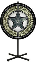 60 Money Wheel With Green Star And Vinyl Laydown - Made In Usa