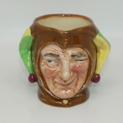 Royal Doulton Small Size Character Jug The Jester D5556 A Mark Uk Made