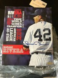 Signed Mariano Rivera Stat Box Collectible Figurine Still In Box Only 1 On Ebay