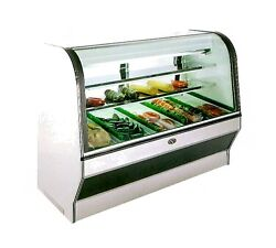 Marc Refrigeration HS-8R Display Case Red Meat Deli