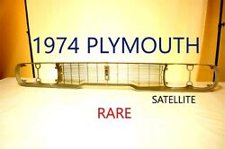 1970and039s 1974 Grill Mopar Plymouth Satellite 4 Door Car Station Wagon 1973 1975