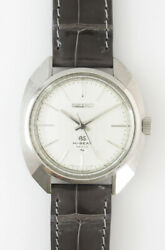 Grand Seiko 4520-7000 White Dial Manual Winding Vintage Watch 1969and039s Overhauled