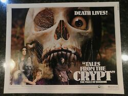 Tales From The Crypt Original 1972 Movie Poster, C8.5 Very Fine/near Mint
