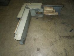 Bulldog Ldp308-2 800a 3ph 3w 600v Copper Right Edgewise Bus Duct Elbow Used