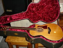 Taylor 714ce Acoustic Expression Guitar Deluxe Hard Case Cedar/rosewood