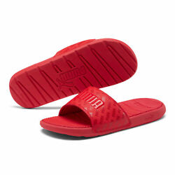 PUMA Men#x27;s Cool Cat Bold Graphic Slides $14.99