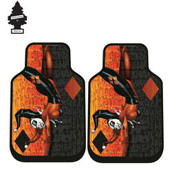 For Mazda New Dc Comic Harley Quinn Car Truck Suv Front Floor Mats Set W Gift