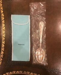 And Co Antique Sterling 8 5/8 Serving Spoon Wave Edge 1884mint Unused
