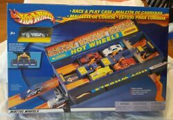 Vintage New Sealed Hot Wheels Race And Play Case 2002 Shelf