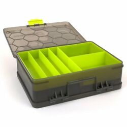 Matrix Double Sided Feeder And Tackle Box Coarse Match Fishing